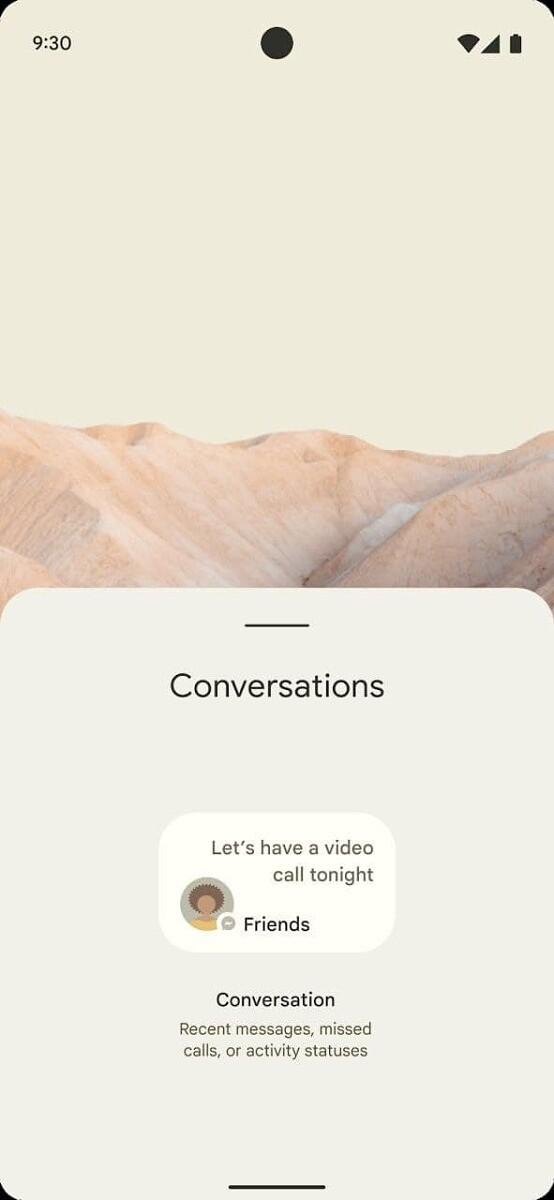 Conversations Mockup