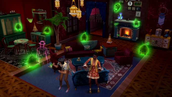 Sims 4: Paranormal Pack