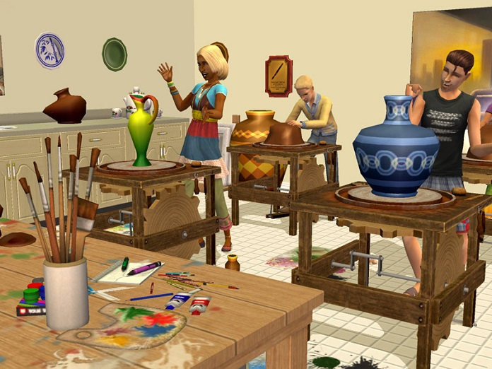 Sims 4: Arts and Crafts Pack