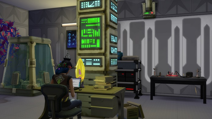 SIMS 4: Technology and Science Pack