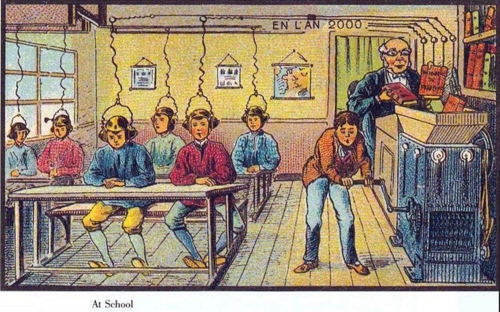 Як люди уявляли майбутнє сто років тому