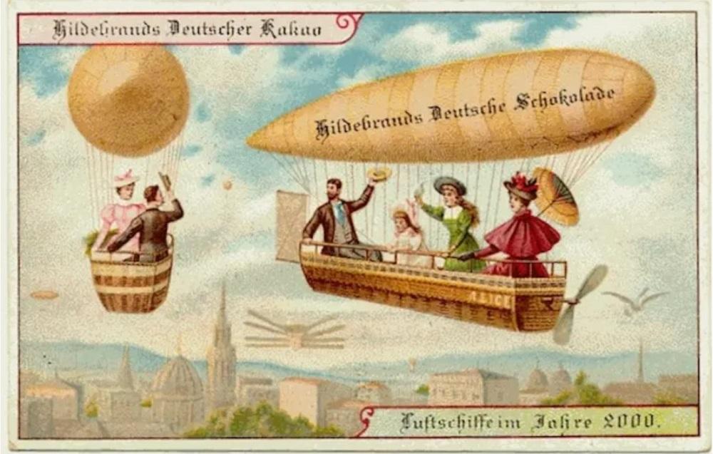 Как люди представляли будущее сто лет назад