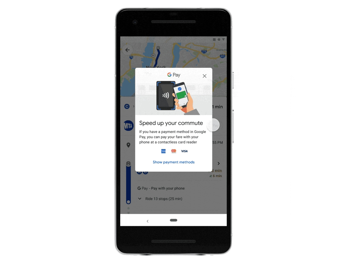 Istnieją różne programy zakupu biletów komunikacji miejskiej. Wkrótce będzie to również możliwe na Google Maps, najpierw w Warszawie, Łodzi i Wrocławiu.