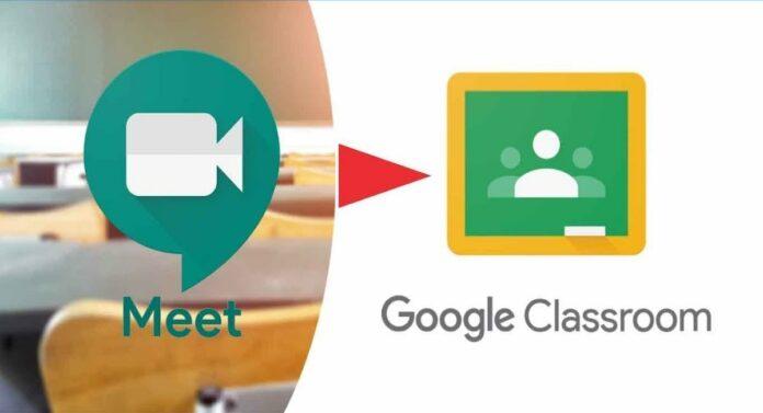 Google Meet Classroom