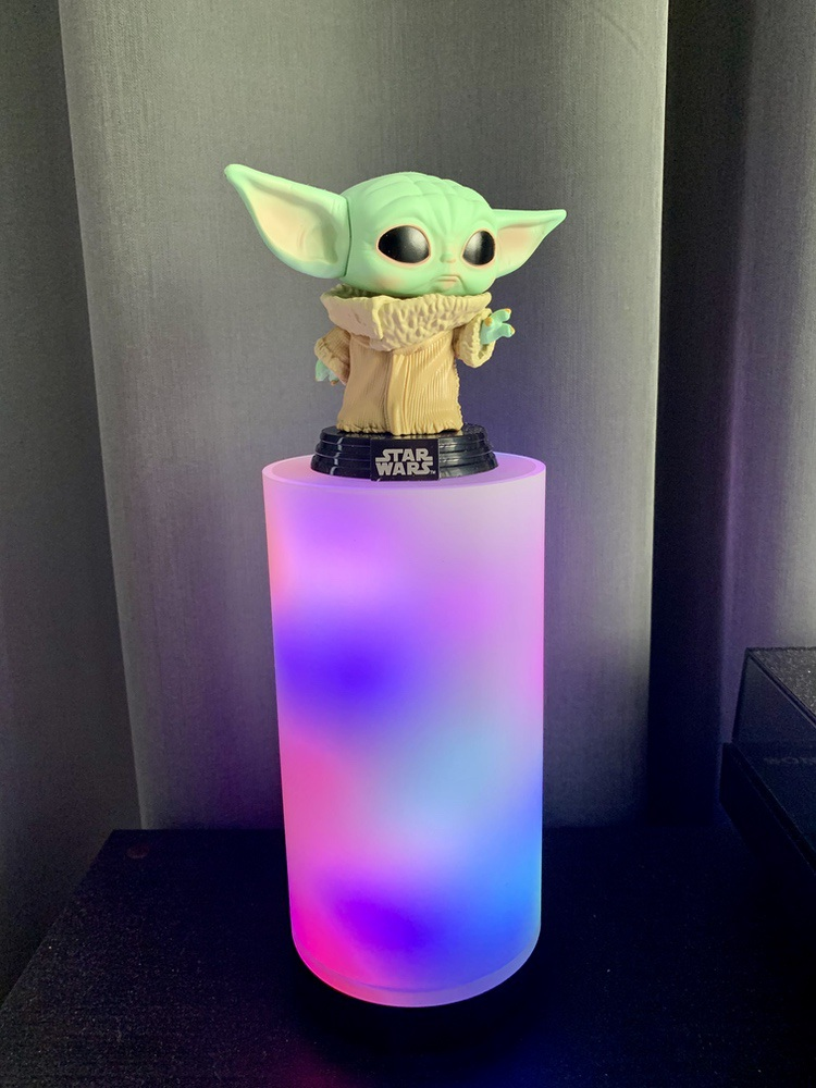 Gyver Lamp with Grogu