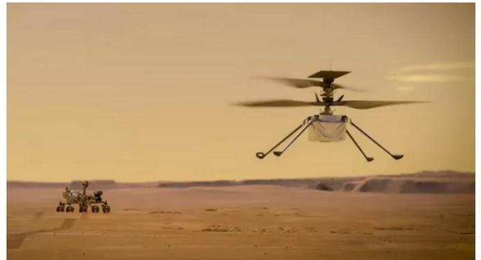 вертоліт Ingenuity