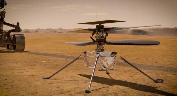 Mars NASA Ingenuity