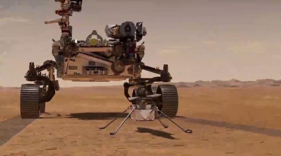 Mars NASA Perservance