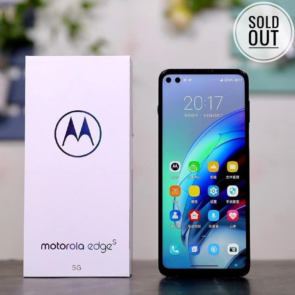 Motorola Edge S продано в кількості 10 000 штук всього за 2 хвилини