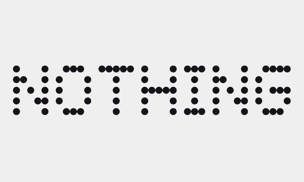 Nothing Logo