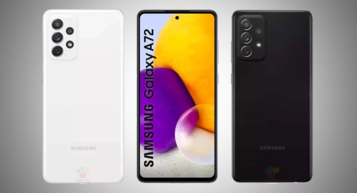 Samsung Galaxy A72 Leaked