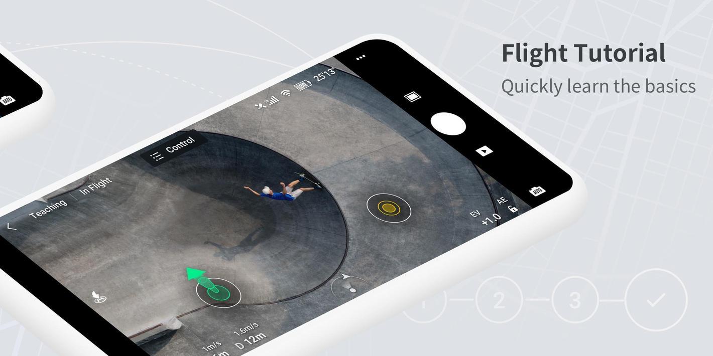 AplikacjaDJI Fly