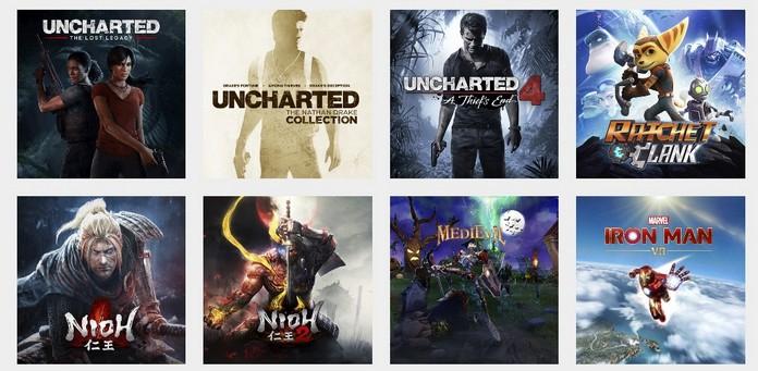 знижки на ігри для PS4