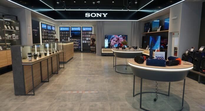 фірмовий магазин Sony