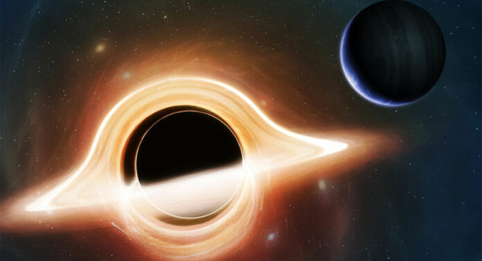 Supermassive black hole planet