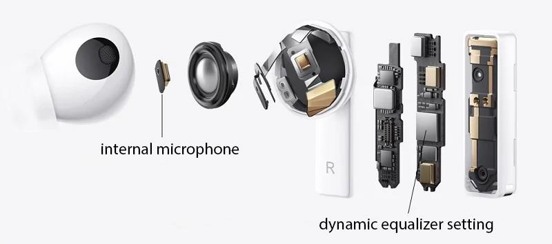 Huawei FreeBuds Pro - Internal microphone