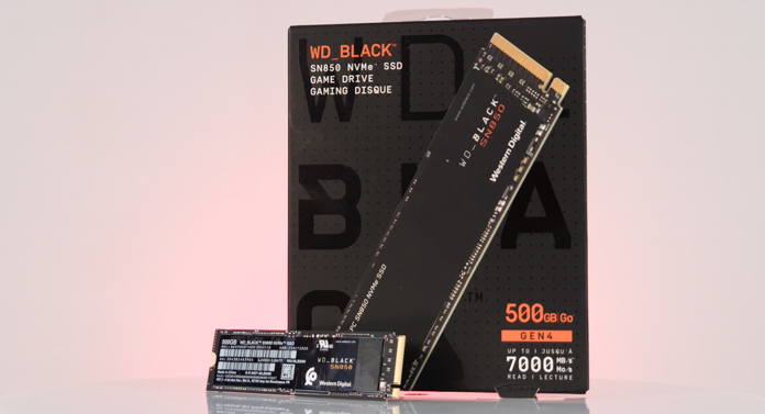 WD Black SN850 500GB