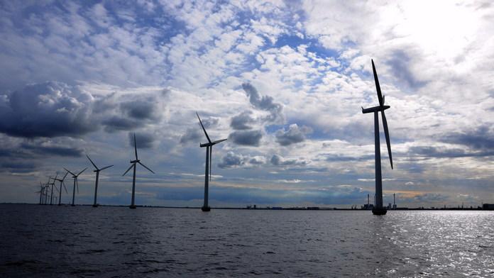 морська вітряна електростанція