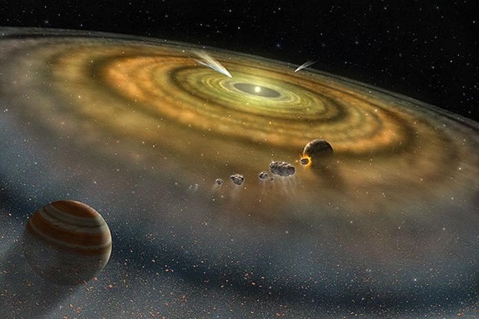 утворення планет