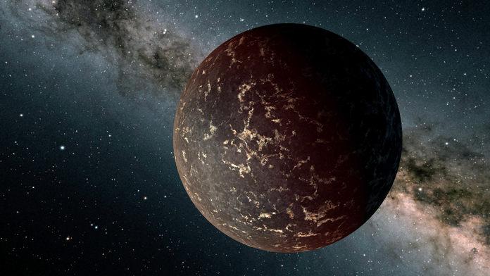 екзопланета LHS 3844b