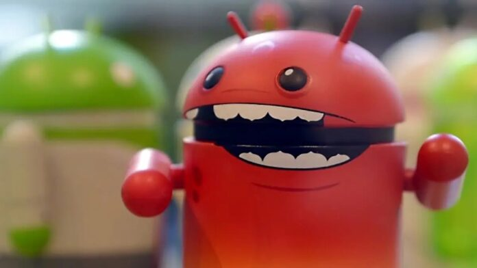 Android malware system update
