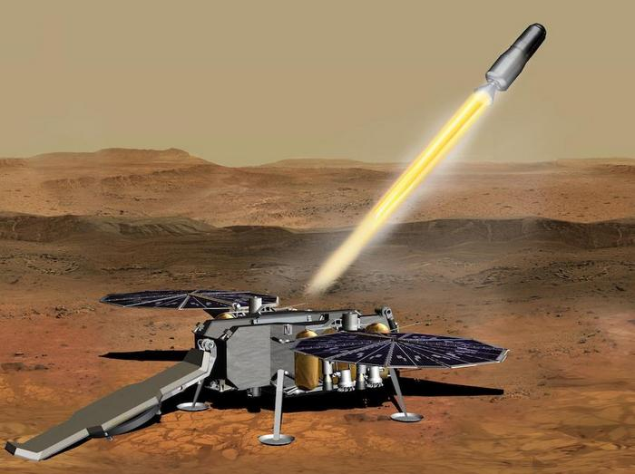 NASA Mars Ascent Vehicle