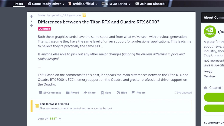 ASUS RTX 3060 Quadro