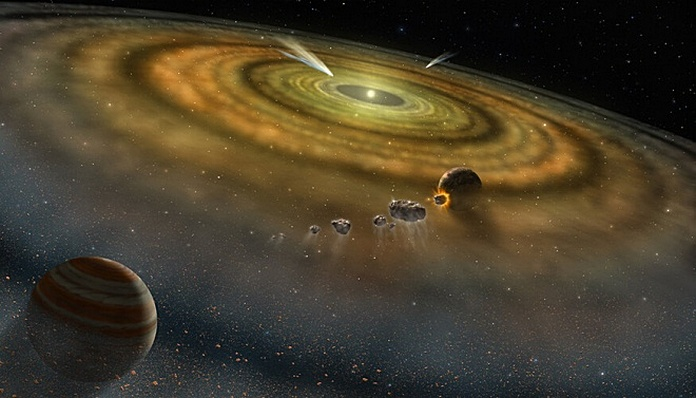 утворення сонячної системи