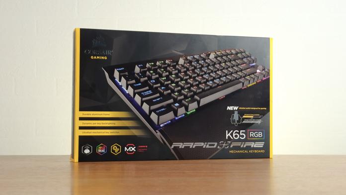 Corsair K65 RGB Rapidfire