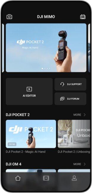 DJI Pocket 2 App