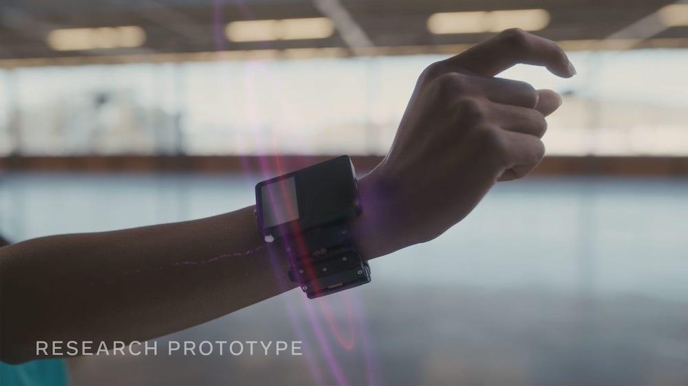 Facebook Wrist-based AR