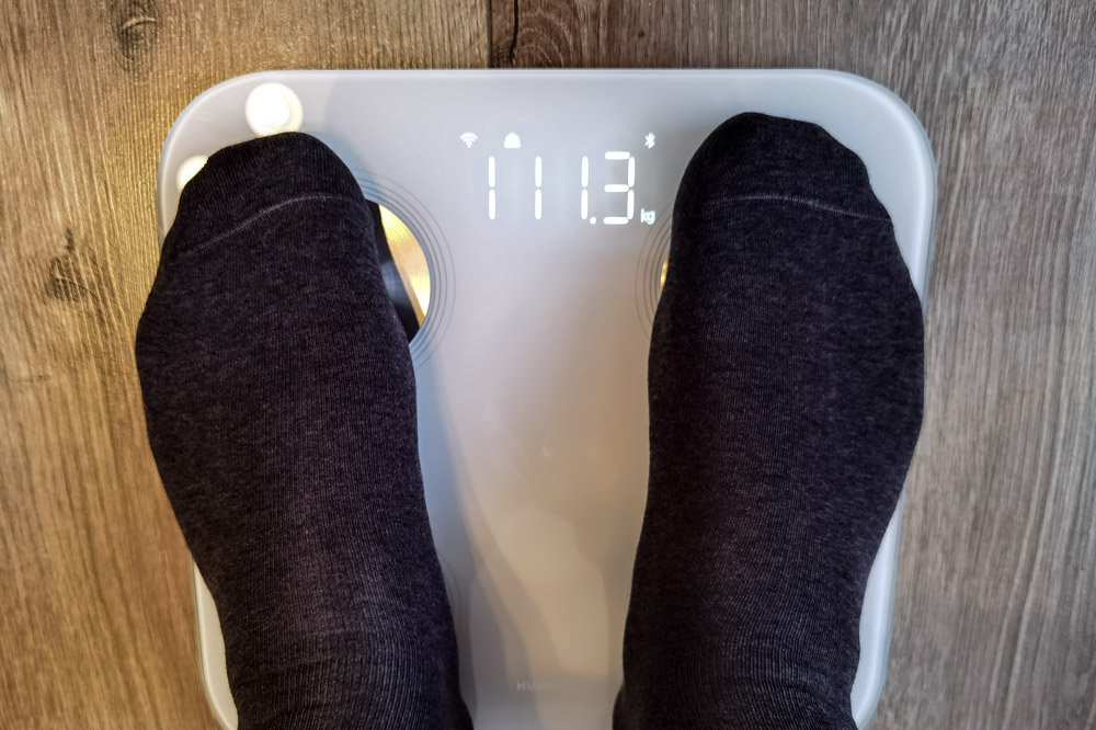 Huawei Scale 3 - измерения веса