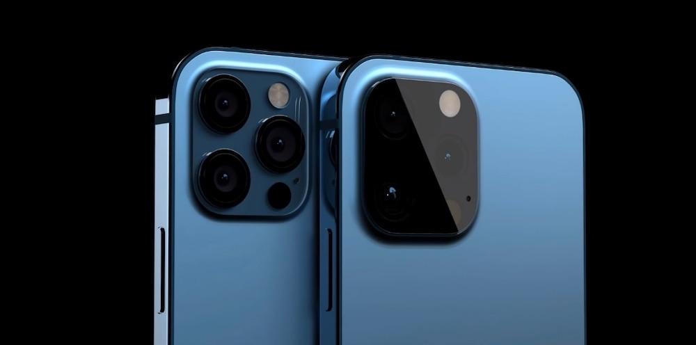 Apple iPhone 13 Pro camera render