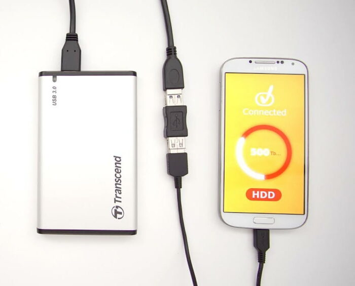 hdd to smartphone