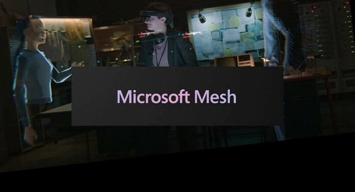 система Microsoft Mesh
