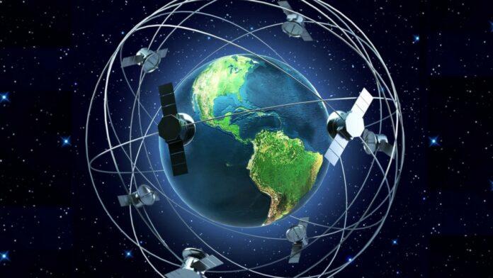constellation of satellites