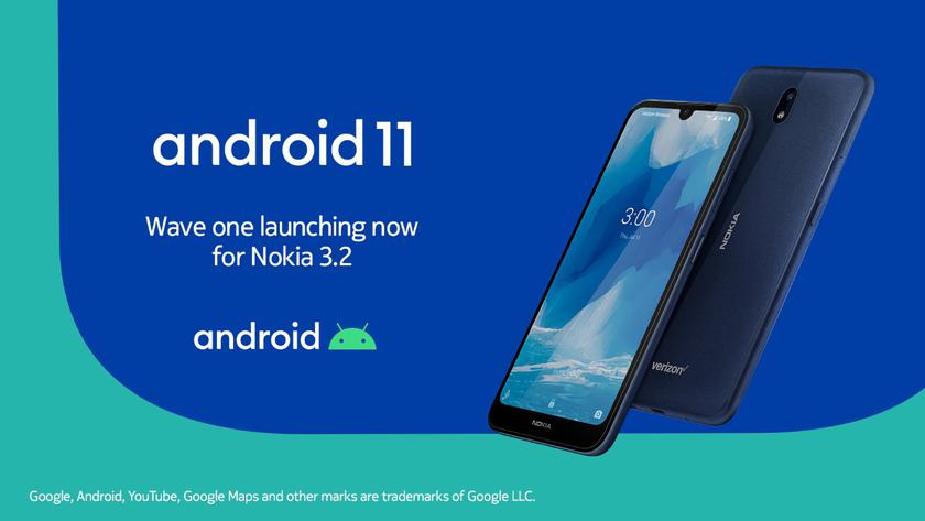 Nokia 3.2 Android 11