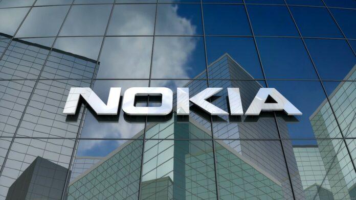 Nokia logo sign