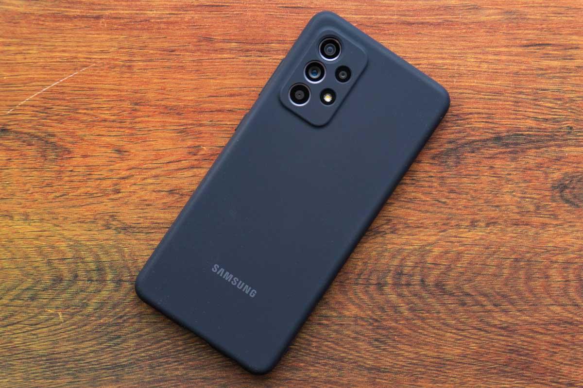 Samsung Galaxy A52 Silicone Cover