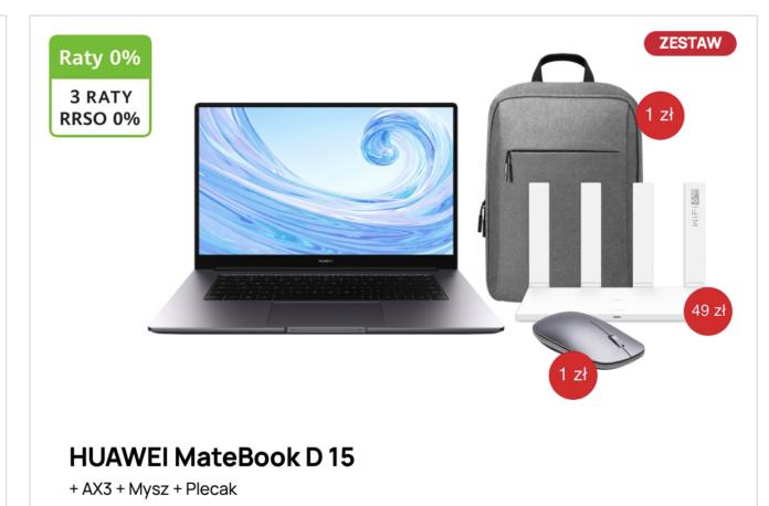 Kup laptop – router w prezencie. Huawei oferuje promocyjne zestawy