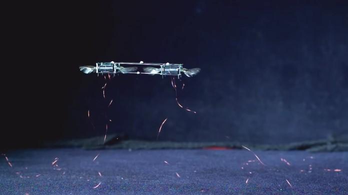 прототип мікро-дрона MAV