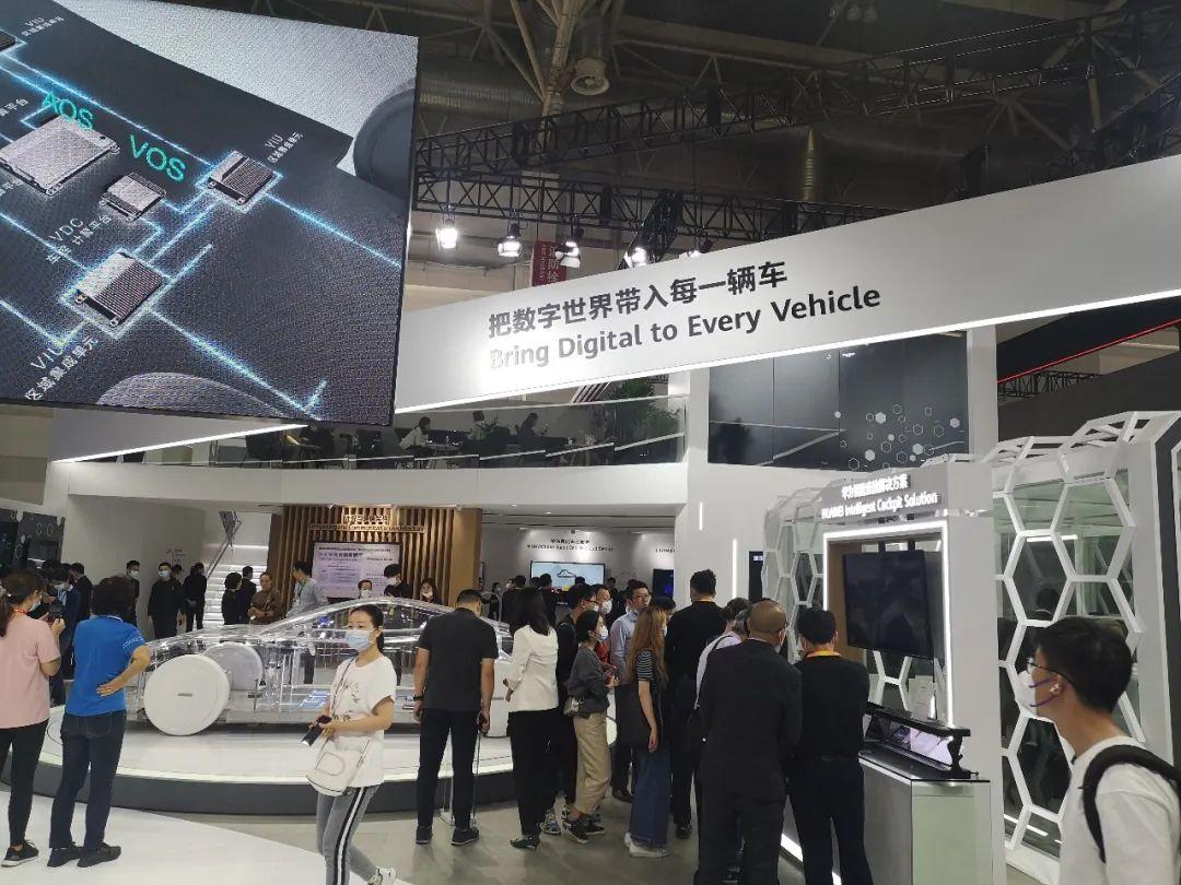 Huawei zaprezentował swoje autorskie inteligentne komponenty i rozwiązania dla branży motoryzacyjnej t