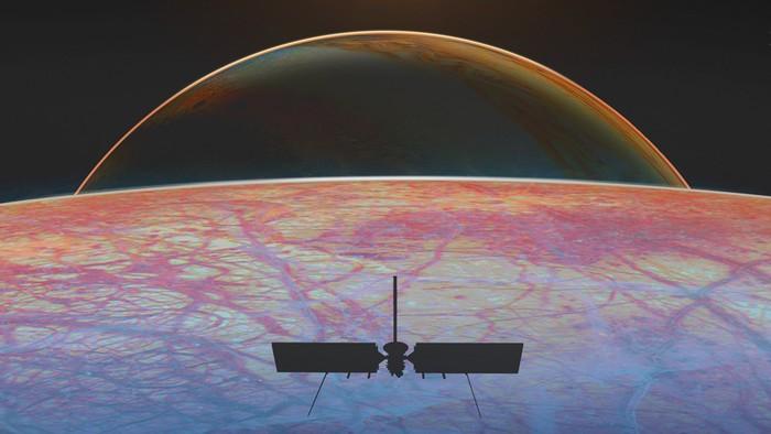 Europa Clipper spacecraft