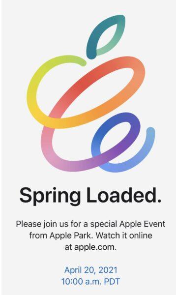 Apple Event 20 kwietnia