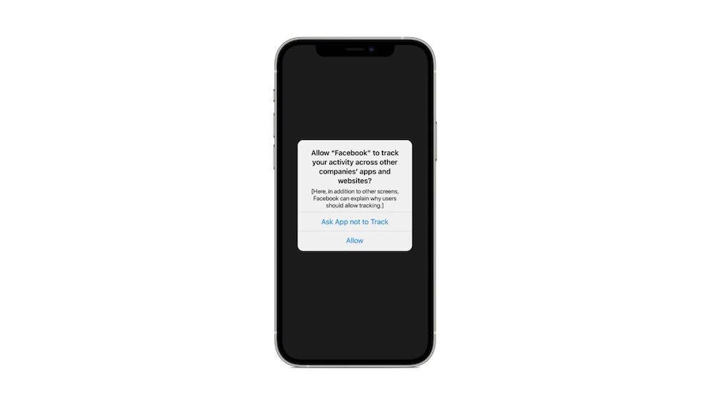 Apple App Activity Tracking Dialog