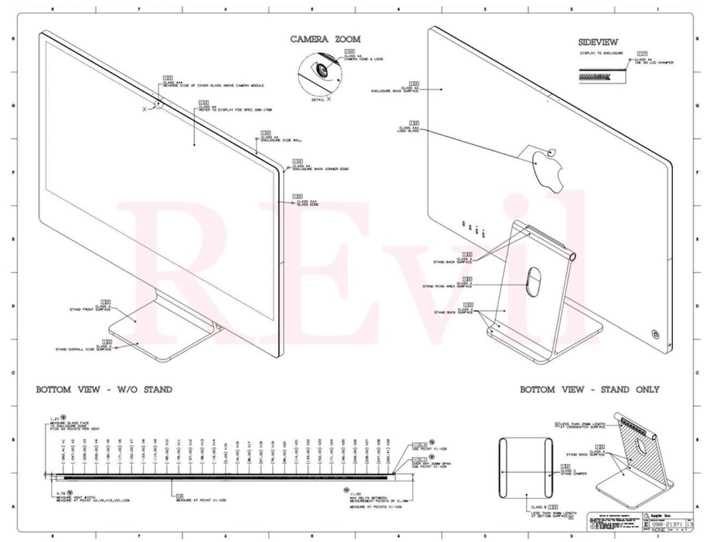 Apple iMac Blueprint