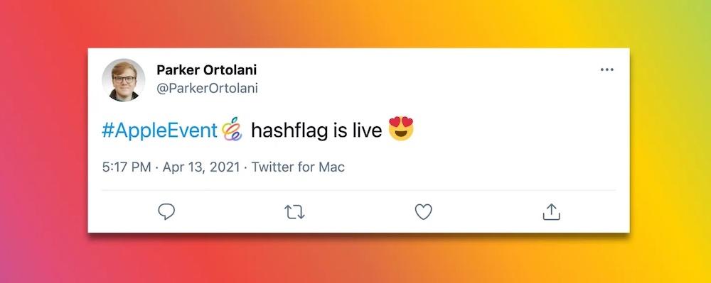 AppleEvent Hashtag