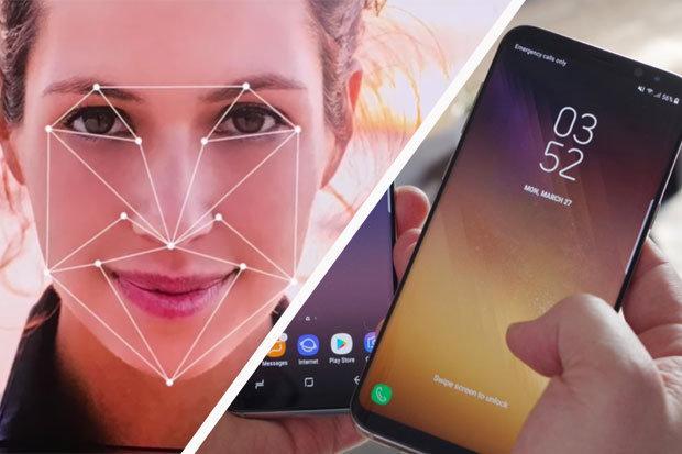 Біометрія в смартфонах