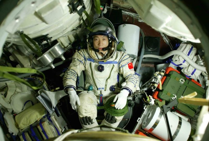 Перший китайський космонавт Ян Лівей.