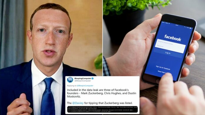 Facebook Zuckerberg Leaked